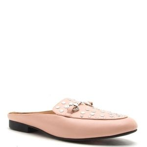 Shoes - Moving Sale! Send Offers! Blush Mules   .